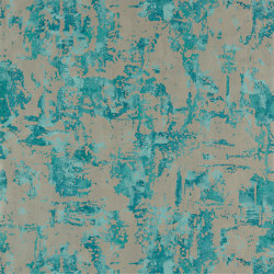 Anthropic Azurite/Pewter | Wall coverings / wallpapers | Anthology