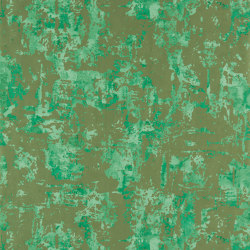 Anthropic Aventurine/Brass | Wall coverings / wallpapers | Anthology