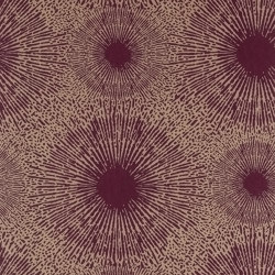Perlite Ruby/Antique Brass | Wall coverings / wallpapers | Anthology