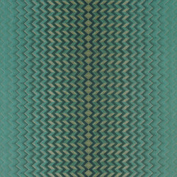Modulate Emerald/Kingfisher | Carta parati / tappezzeria | Anthology