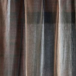 Stria Putty/Brass/Charcoal | Drapery fabrics | Anthology