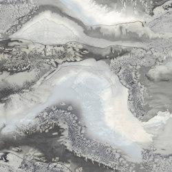 Obsidian Snowflake – PANEL A | Carta parati / tappezzeria | Anthology