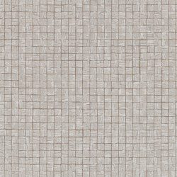 Cubic Walnut | Wall coverings / wallpapers | Anthology