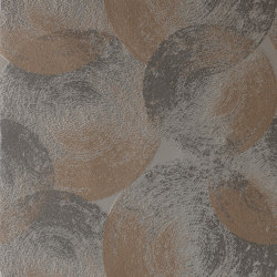 Ellipse Copper/Granite | Wall coverings / wallpapers | Anthology