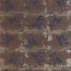 Oxidise Azurite/Mink | Wall coverings / wallpapers | Anthology