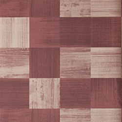 Bloc Claret | Wall coverings / wallpapers | Anthology