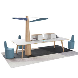 Baobab Rettangolare | Desks | Estel Group