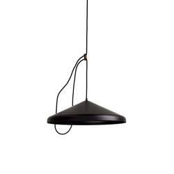 Lloop  XL uni black | Suspended lights | Vij5