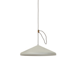 Lloop XL uni silk-grey | Suspended lights | Vij5