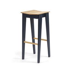 Tilt Bar Stool   blue   Bar stools   Vij5