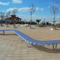 Eclosia bench | Benches | TF URBAN