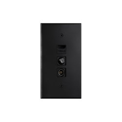 Cullinan - Black - USB + Panel for TV connectors | USB power sockets | Atelier Luxus