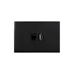 Cullinan - Black - USB charger | USB power sockets | Atelier Luxus