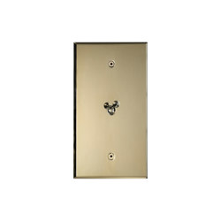 Cullinan - Brushed brass - Water drop lever | Interruttori leva | Atelier Luxus
