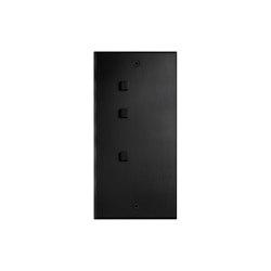 Cullinan - Matte bronze - 2+1 square button   Push-button switches   Atelier Luxus