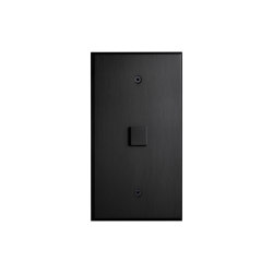 Cullinan - Matte Bronze - Large square button   Push-button switches   Atelier Luxus