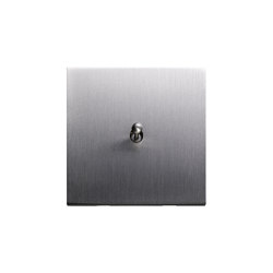 Facet - Brushed nickel - water drop lever | Interruttori leva | Atelier Luxus