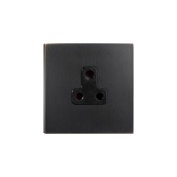 Facet - Medium bronze - 5amp socket | British sockets | Atelier Luxus