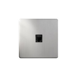 Grace - Brushed nickel - RJ | Ethernet ports | Atelier Luxus