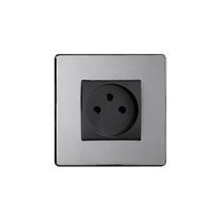 Grace - Mirror chrome - Israelian socket | Prese Schuko | Atelier Luxus