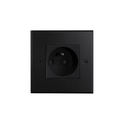 Hope - Black - Socket | Schuko sockets | Atelier Luxus