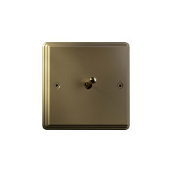 Hope - Brushed brass - Water drop lever | Interruttori leva | Atelier Luxus