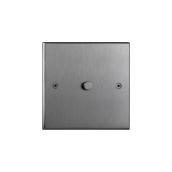 Hope - Brushed nickel -  Round push-button | Push-button switches | Atelier Luxus