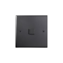 Hope - Mat bronze - Large square button   Push-button switches   Atelier Luxus