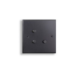 Hope - Mat bronze - Round push button | Push-button switches | Atelier Luxus