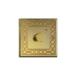 Hope - Mirror brass - Custom-made | Heating / Air-conditioning controls | Atelier Luxus