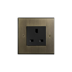 Hope - Old gold - UK socket | British sockets | Atelier Luxus