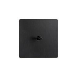 Noor - Mat bronze - Cone lever   Toggle switches   Atelier Luxus