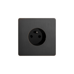 Noor - Medium bronze - Socket | Enchufes Schuko | Atelier Luxus