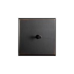 Regent - Medium bronze - Cone lever | Kippschalter | Atelier Luxus