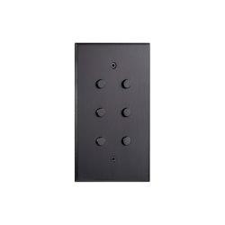 Cullinan - Matbronze - roundpushbutton   Push-button switches   Atelier Luxus
