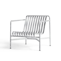Palissade Lounge Chair Hot Galvanised | Sillones | HAY