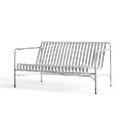 Palissade Lounge Sofa Hot Galvanised | Canapés | HAY