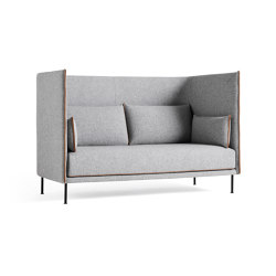 Silhouette 2 Seater High Backed | Sofas | HAY