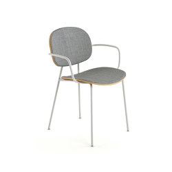 Tondina upholstered with arms | Stühle | Infiniti
