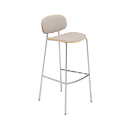 Tondina kitchen stool upholstered | Tabourets de bar | Infiniti
