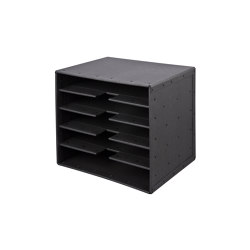 Tray 5-compartments, graphite | Desk tidies | BIARO
