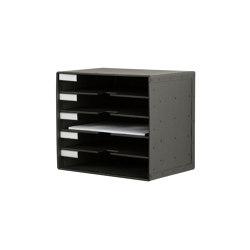 Tray pigeonhole, graphite | Portaobjetos | BIARO