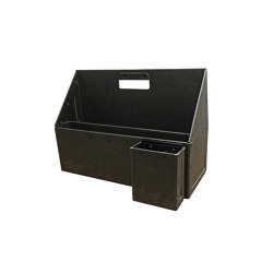 Toolbox for A3, graphite | Contenedores / Cajas | BIARO