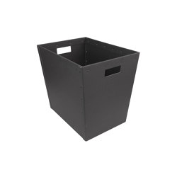 Stackable paper tray, graphite | Waste baskets | BIARO