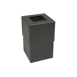 Zoom, graphite | Waste baskets | BIARO
