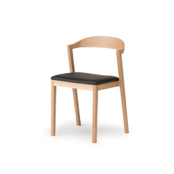 Kiila Stacking Chair - Upholstered | Sedie | Conde House