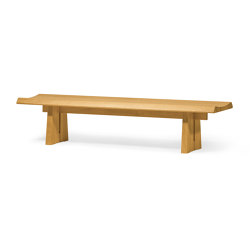 Riki Bench | Bancos | Conde House Co., Ltd Japan