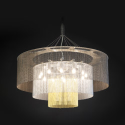 3-Tier - 700 - suspended | Suspended lights | Willowlamp