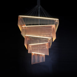 Geometric Storm - 1200 | Suspended lights | Willowlamp