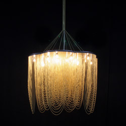 Rose - 700 - long - suspended | Suspended lights | Willowlamp